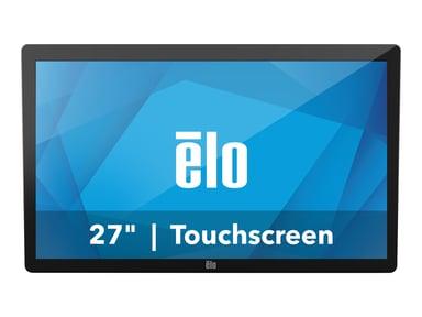 "Elo 2702L 27"" LCD Full HD 10-Touch VGA/HDMI Ej Stativ Svart"