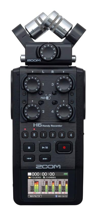 Zoom H6 Handy Recorder Sort