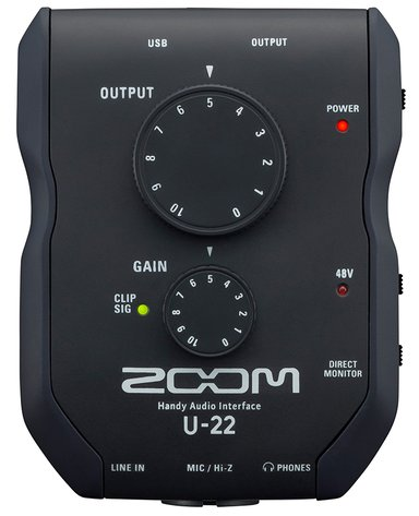 Zoom U22 Handy Audio Interface null