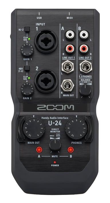 Zoom U24 Handy Audio Interface null