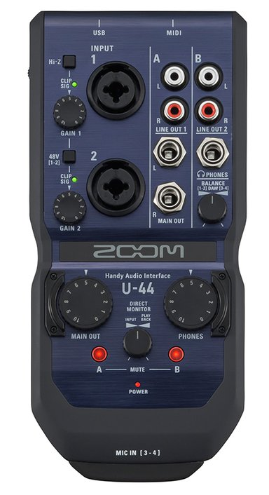 Zoom U44 Handy Audio Interface