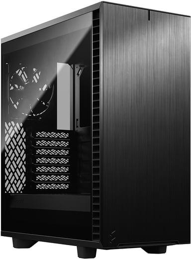 Fractal Design Define 7 Compact Dark Glass Svart