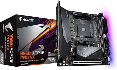 Gigabyte B550I AORUS PRO AX Mini ITX