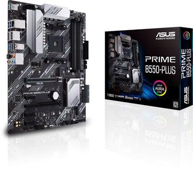 ASUS PRIME B550-PLUS ATX Bundkort