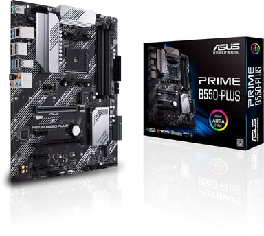 ASUS PRIME B550-PLUS ATX Moderkort