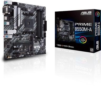 ASUS PRIME B550M-A Micro ATX Moderkort