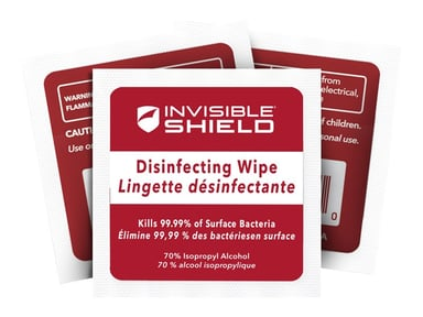 Zagg Invisibleshield Antimicrobial Wet Wipe (10-Pack)
