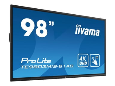 "Iiyama ProLite TE9803MIS-B1AG 98"" 350cd/m² 4K UHD (2160p) 16:9"
