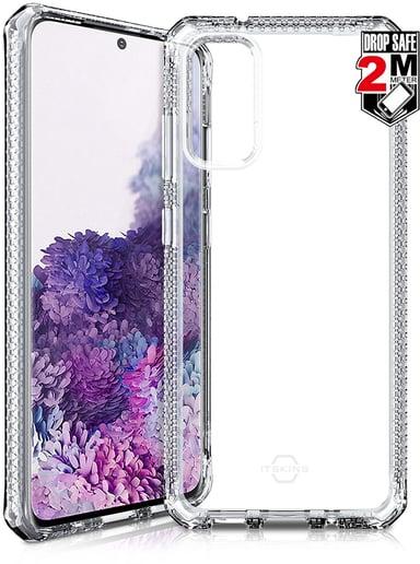 Cirafon Spectrum Clear Drop Safe Samsung Galaxy S20 Gjennomsiktig