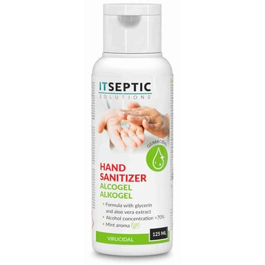 Itseptic Hand Disinfection Gel >70% Alcohol 125ml