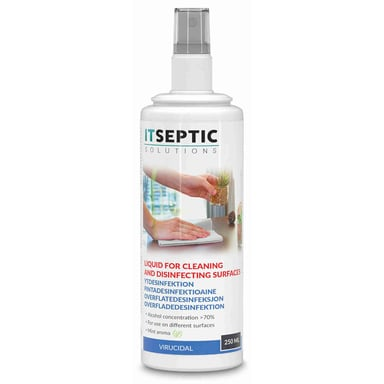 Itseptic Surface Disinfection Liquid >70% Alcohol 250ml