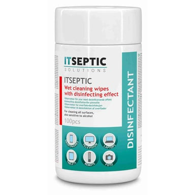 Itseptic Surface Disinfection Wet Wipe Small Chloride 9x13.5cm 100pcs
