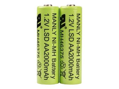 Socket Mobile Socket Battery AA NiMH - Socketscan S700/S730/S740 2-Pack