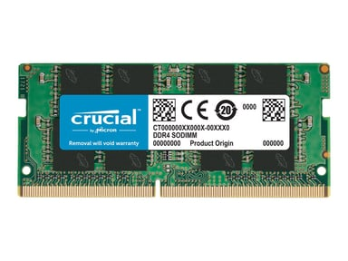Crucial DDR4 SoDimm 16GB 2,666MHz DDR4 SDRAM SO DIMM 260-pin