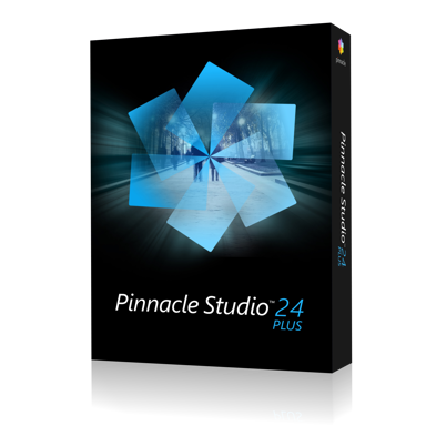 Corel Pinnacle Studio 24 Plus Box