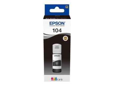 Epson Bläck Svart 70ml 104 - ET-2710/2720/4750