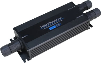 Direktronik 2-port 60W PoE Repeater IP67