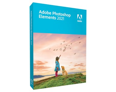 Adobe Photoshop Elements 2021 Win Svensk Box