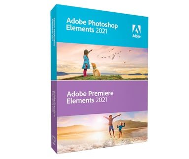 Adobe Photoshop Elements 2021 & Premiere Elements 2021 Win Svensk Box