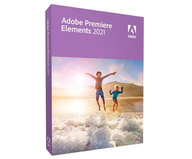 Adobe Premiere Elements 2021 Win/Mac Englanninkielinen päivitys Box
