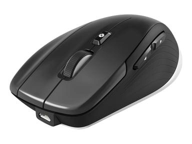 3DConnexion CadMouse Compact 7,200dpi Hiiri Langallinen Langaton Hopea Musta