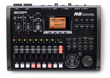 Zoom R8 8-Channel Multitrack Recorder