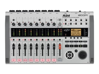 Zoom R24 24-Channel Multitrack Recorder null