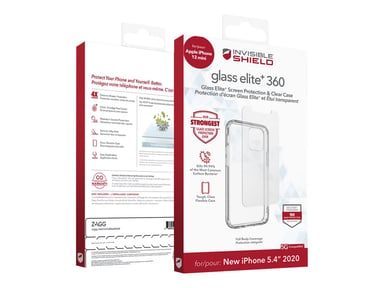 Zagg invisibleSHIELD Glass Elite+ 360 iPhone 12 Mini