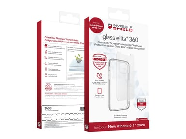 Zagg invisibleSHIELD Glass Elite+ 360 iPhone 12 iPhone 12 Pro