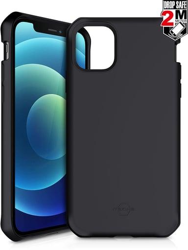 Cirafon Spectrum Solid Drop Safe iPhone 12 Zwart