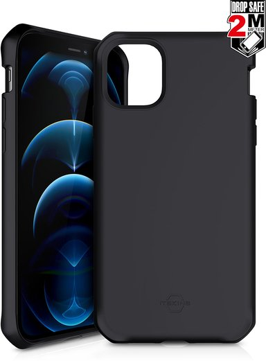Cirafon Spectrum Solid Drop Safe iPhone 12 Pro Max Svart