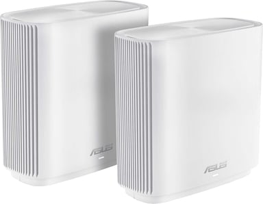 ASUS ZenWiFi AC CT8 / AC3000 WiFi Mesh System 2-Pack - Valkoinen