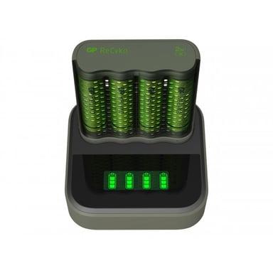 GP ReCyko Speed Charger M451 USB + Laddningsdocka + 4st 2600mAh Batteri