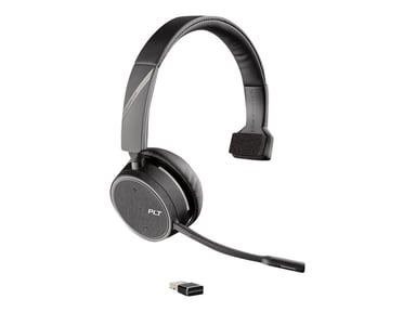 Poly B4210 Voyager UC USB-A with Charge Stand Grå Svart