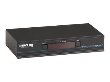Black Box KVM Switch - VGA Audio USB 2.0 4-Port