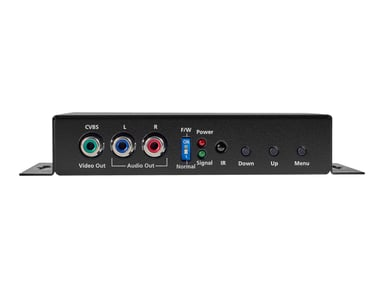 Black Box HDMI To Analog Video Scaler/Converter With Audio