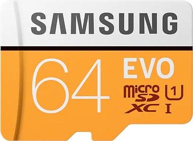 Samsung EVO 64GB mikroSDXC UHS-I minneskort