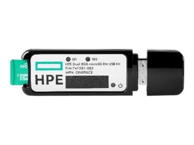 HPE 32GB microSD RAID 1 USB Boot Drive