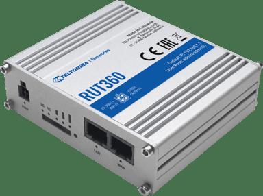 Teltonika RUT360 Industriell LTE CAT6 ruter