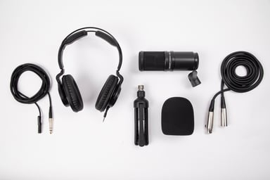 Zoom ZDM-1 Podcast Mic Pack Musta
