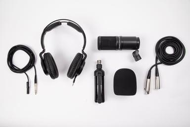 Zoom ZDM-1 Podcast Mic Pack Sort