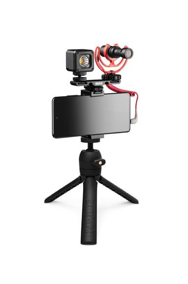 Røde VLOGVMICRO Vlogger Kit For 3.5mm Mobile Jack Svart