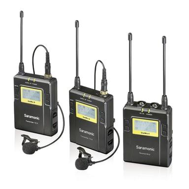 Saramonic Uhf Wireless Uvmic9 Package X2 Uwmic9 2Xtx9+Rx9 #demo
