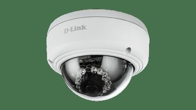 D-Link DCS-4602EV Full HD Outdoor Vandal-Proof PoE Dome Camera #demo