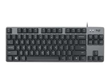 Logitech K835 Tkl Mechanical Keyboard Graphite/Grey Kabelansluten Nordisk Grå