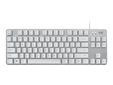 Logitech K835 Tkl Mechanical Keyboard Silver/White Kabelansluten Nordisk Silver Vit