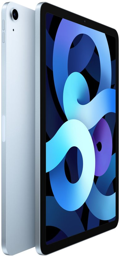 """Apple iPad Air 4th gen (2020) Wi-Fi 10.9"""" A14 Bionic 256GB Himmelsblå"""