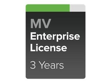 Cisco Meraki MV Enterprise License & Support 3YR