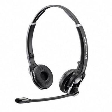 EPOS | SENNHEISER IMPACT DW PRO2 Headset Only Silver Svart