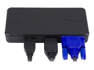 Targus USB Multi-Display Adapter USB 3.0 Mini-dock